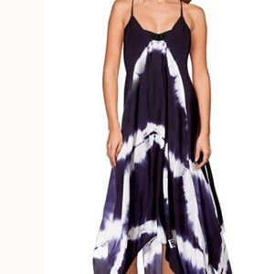 NEW Raviya Tye-Dye Maxi Swim Coverup Dress Large